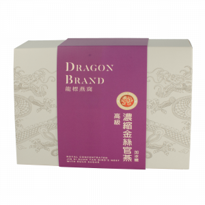 Dragon Brand Royal Concentrated Jin Si Guan Yan Bird's Nest with Rock Sugar (6 x 28g)
