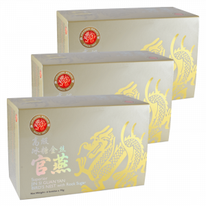 Dragon Brand Jin Si Bird's Nest, 3 x (6 x 75g) Bundle