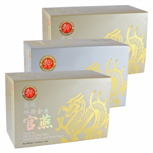Dragonbrand Jin Si Bird's Nest, 3 x (6 x 75g) Bundle