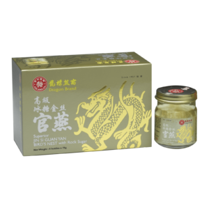 Dragonbrand Superior Jin Si Guan Yan Bird's Nest with Rock Sugar (6 x 75g)