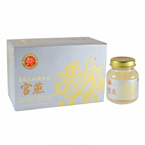 Dragon Brand Superior Jin Si Guan Yan Bird's Nest with Reduced Sugar (6 x 75g)